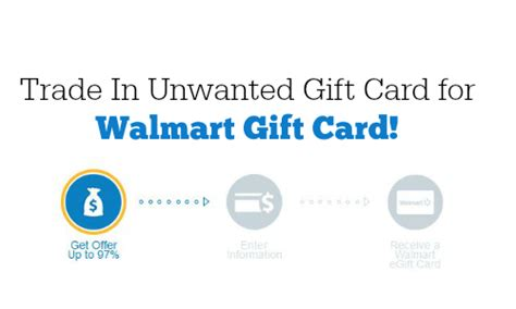 Can You Trade Gift Cards - trade in unwanted gift cards for walmart gift card southern savers
