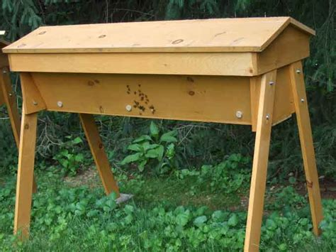 Beehive Top Bar by Anyone Keeping Bee S Bananas Org