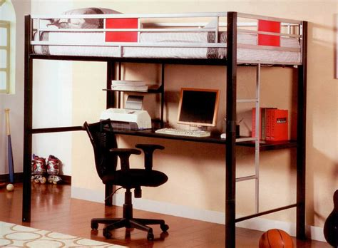 Bunk Bed W Desk Underneath Loft Bunk Bed With Desk Loft Storage Bed Bunk W Desk Furniture Bedroom Set With
