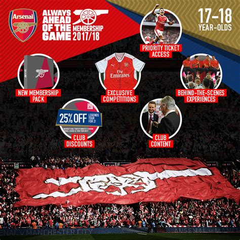 arsenal red membership new benefits for cannon members news arsenal com