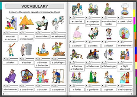 libro the vocabulary guide anglais el carmen s orchard vocabulary about jobs