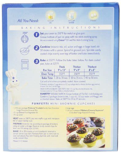 19 Ingredients And Directions Of Duet Of Chocolate And Berry Tart Receipt by Pillsbury Brownie Mix Recipe On Box