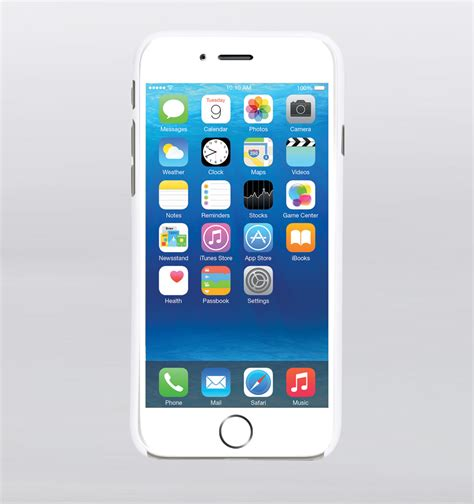 Slim Computer Desk Gecko Iphone 6 6s Ultra Slim Snap Case White