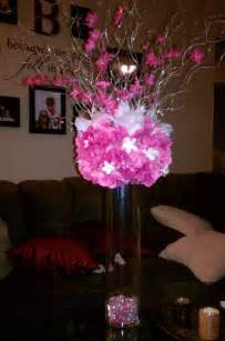 Vase For Lighted Branches My Diy Tall Amp Short Centerpieces Weddingbee Photo Gallery