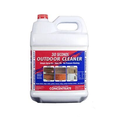 seconds  gal outdoor cleaner concentrate