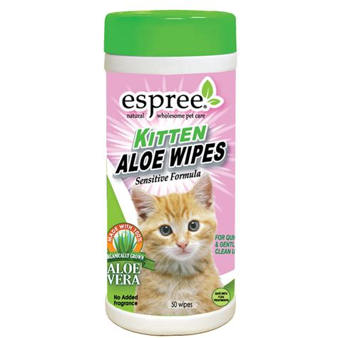 Bedak Kucing Espree Kitten Bath espree kitten aloe wipes 50ct petco