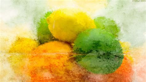 painting for mac 1920x1080 lemons and limes painting desktop pc and mac