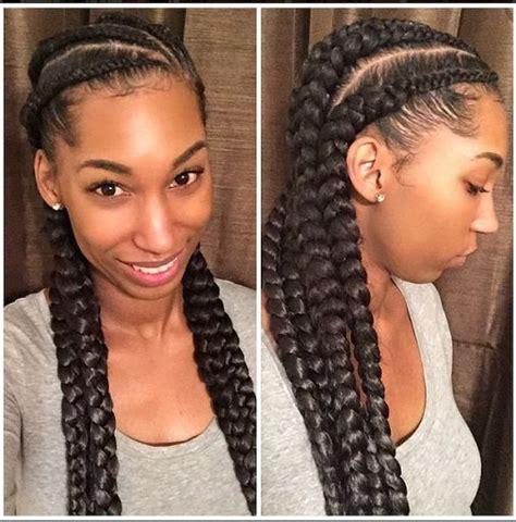 braids hairstyles real hair goddess braid on natural hair kfamabml png quot goddess