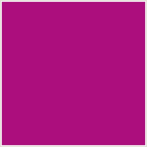 fuschia color hex ad0e7e hex color rgb 173 14 126 deep pink fuchsia