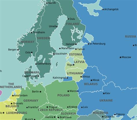 map of baltic sea cruising the baltic sea travel guide at wikivoyage