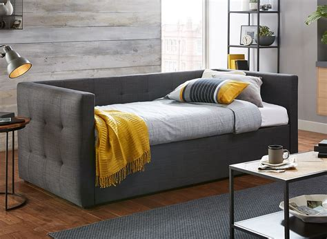 ta futon sofa tabitha slate grey fabric day bed dreams