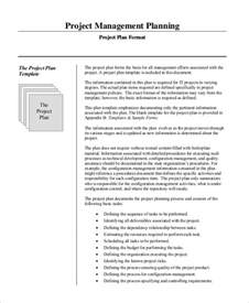 exle of a project plan template sle project management plan 11 exles in word pdf