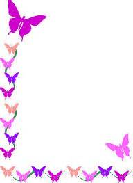 Dora Wall Stickers colorful butterfly corner border design http