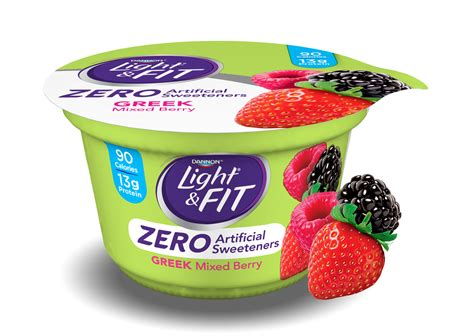 dannon light fit greek yogurt nutrition information dannon light and fit greek yogurt