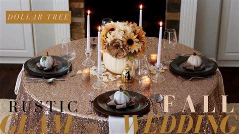 DIY Fall Wedding Decoration Ideas   Rustic Wedding Decor