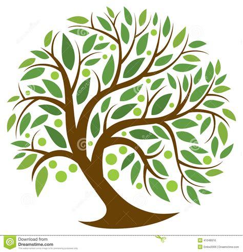clipart alberi albero della vita illustrazione vettoriale illustrazione