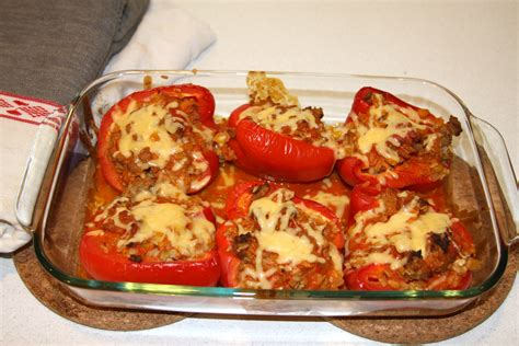 sunday dinner stuffed peppers 1000 wonderful things