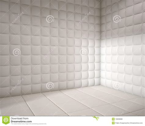 padded white room empty white padded room royalty free stock photos image 19609898