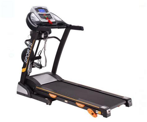 Alat Fitness Treadmill Elektrik Tm 8080 treadmill elektrik toko alat fitness lengkap