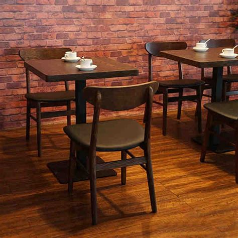 coffee shop tables and chairs coffee shop restaurant retro wood dinette