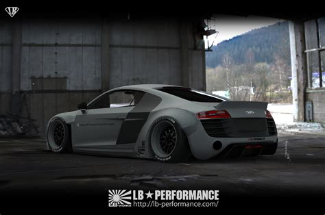 liberty walk liberty walk is gearing up an audi r8 for sema