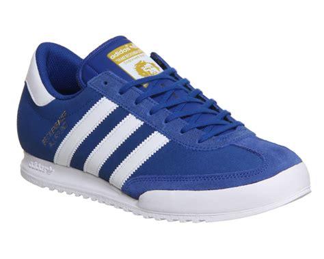 Harga Adidas Beckenbauer adidas originals beckenbauer blue white stripes suede