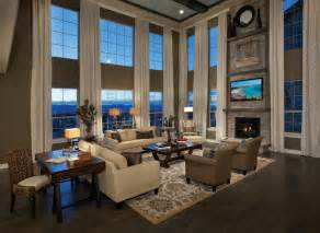 Great Room Windows Inspiration Toll Brothers At Backcountry Luxury New Homes In Highlands Ranch Co