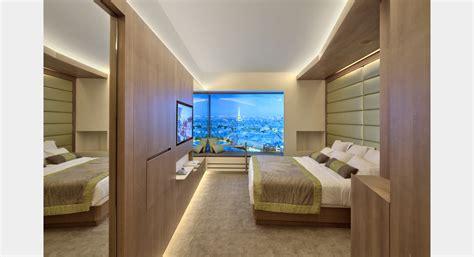 surface chambre hotel plc architectures chambre temoin etoile