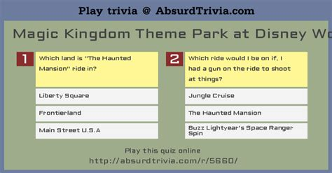 disney themes quiz trivia quiz magic kingdom theme park at disney world