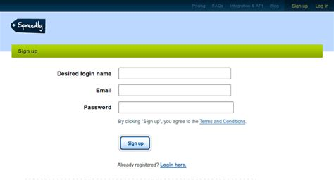 design registration meaning 9 well designed user registration pages to learn from
