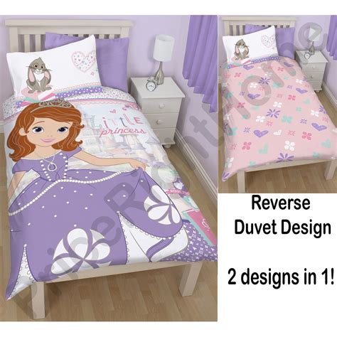 Sofia The Bedroom Set by Disney Sofia The Bedding Single Junior
