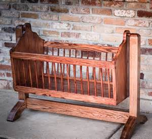 Wooden Baby Crib Designs Swinging Wooden Baby Cradle Handmade From By Beallwoodworks