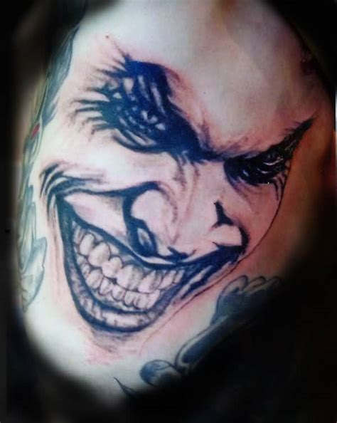 joker face tattoo designs joker tattoo ideas and joker tattoo designs page 44