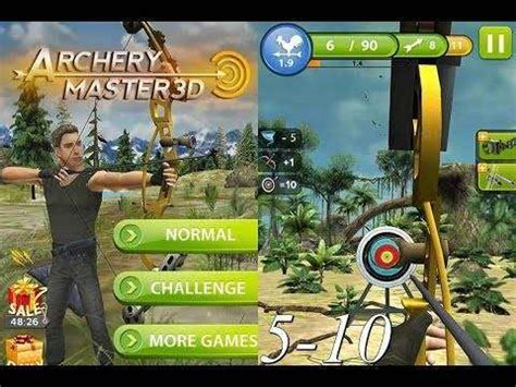 download mod game archery master 3d archery master 3d unlimited coins mod apk android