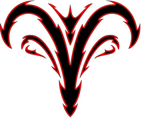 tribal aries debating on this one for my tat in best 25 aries symbol tattoos ideas on aries