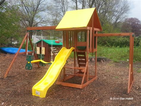springfield swing set big backyard swing set installation ma ct ri nh me