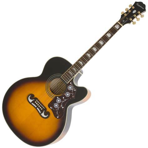 Gitar Epiphone Sg Sunbrush epiphone ej 200ce electro acoustic guitar vintage