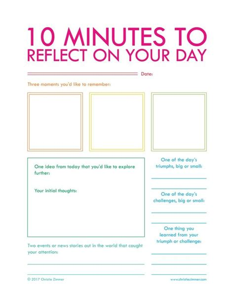 printable daily journal sheets 25 best ideas about daily planner pages on pinterest