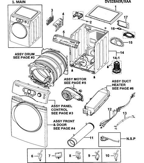 samsung parts samsung dryer parts model dv328aerxaa sears partsdirect