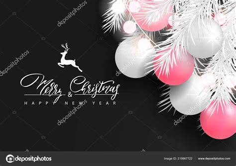 merry christmas  happy  year background  holiday greeting card poster banner