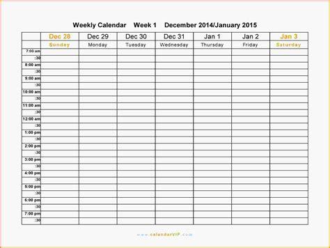 weekly schedule printable weekly schedule word png