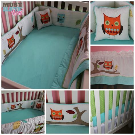 Baby S Crib Bedding Reveal Choosing Gender Neutral Crib Baby Owl Crib Bedding Sets