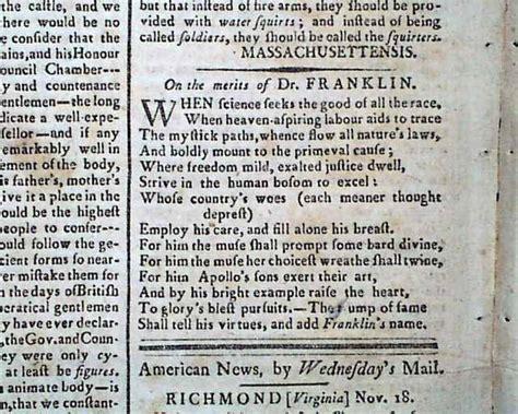benjamin franklin biography poem the shays rebellion poem on ben franklin