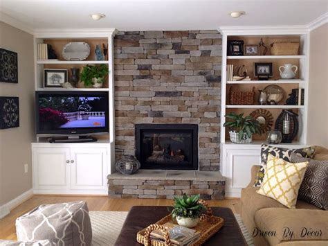 Driven By Decor by Building A Veneer Fireplace Tips For Design