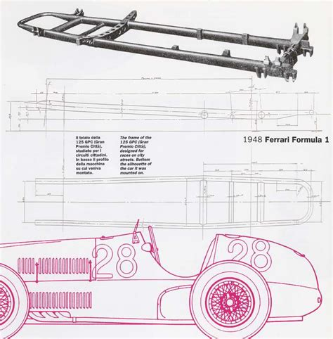 make a blueprint gilco design auto ferrari 125 gpc