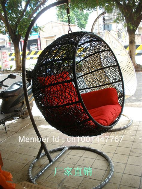 Swingasan Hanging Chair Manufacturers Selling Single Outdoor Indoor Crescent Cane