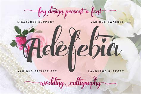 dafont wedding adefebia font dafont com