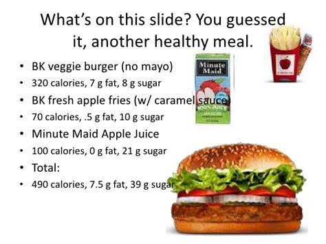 Garden Burger Nutrition by Veggie Burger Calories