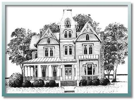 Historical House Plans | historic house plans 1900 historic victorian house plans