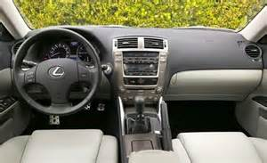 2007 Lexus Is250 Interior Car And Driver